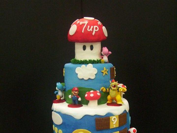 Tmx 1334243634673 007 Hudson, Florida wedding cake