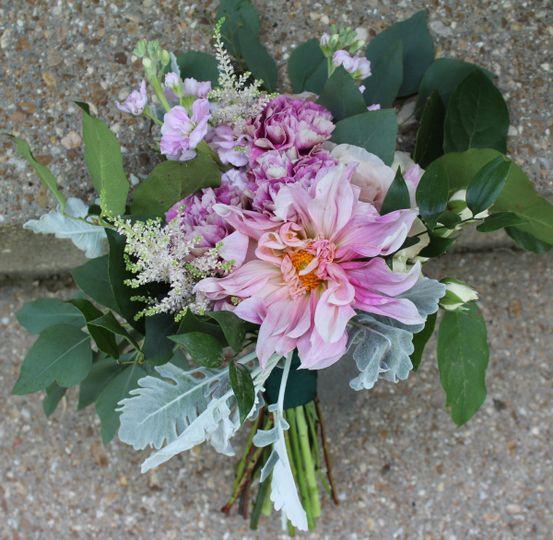 Pink arrangement