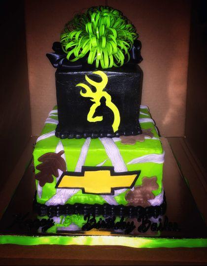 Chevrolet themed cake