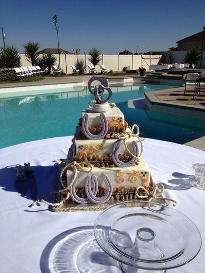 Buttercream & fondant cake