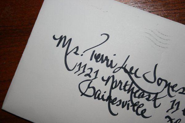 Inkspot Calligraphy - Invitations - Gainesville, FL