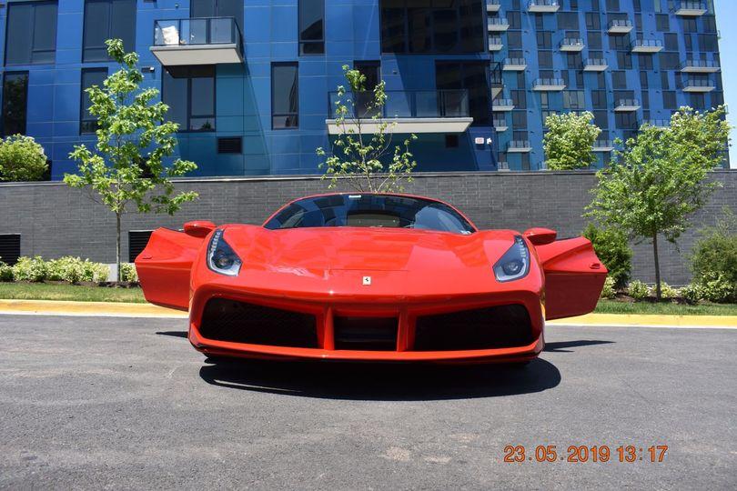 Ferrari 488 GTB - front view