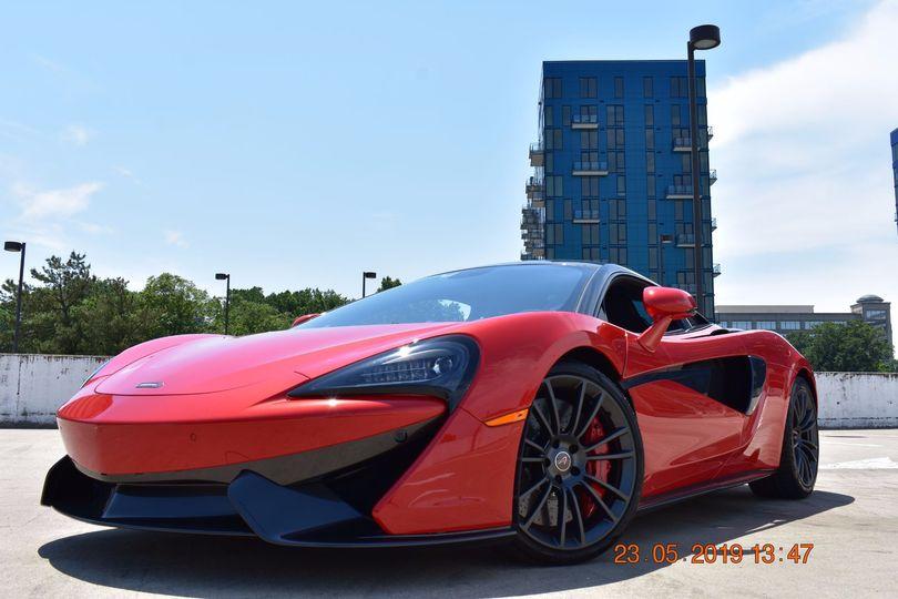 McLaren 570s - front view