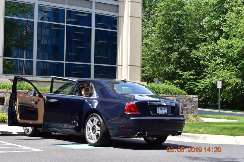 Rolls Royce Ghost - rear view