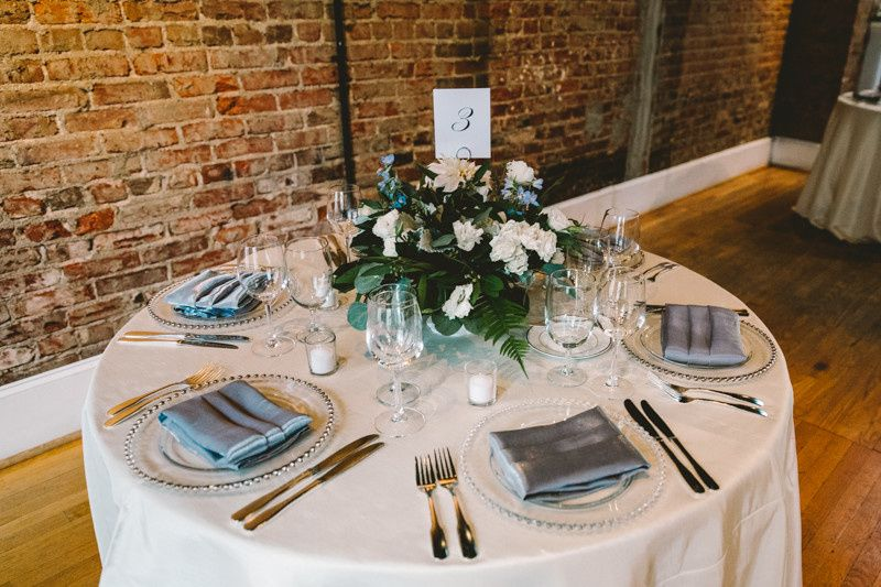 The tablescapes are a reflection of your personal style and set the tone for your celebration