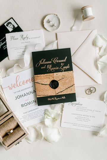 arj productions dc wedding planner lansdowne black invitation 51 954537 157565140819363