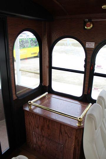 Tram windows