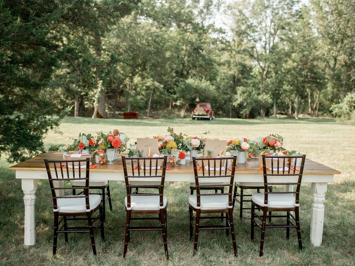 Tmx 1462251563068 Table With Tree Line Kansas City, KS wedding venue