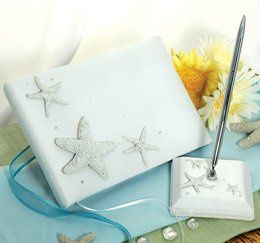 Guest Book & Pen Set Feel the warm romance of the sunset with our Beach Collection Guest Book & Pen...