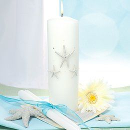 Unity Candle The Beach Unity Candle & Taper Set is the perfect accessory to compliment your...
