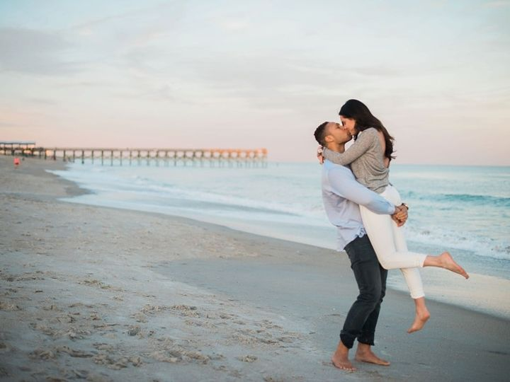 Tmx 1463495850802 Downtown And Wrightsville Beach Nc Engagement Sess Wilmington, NC wedding videography