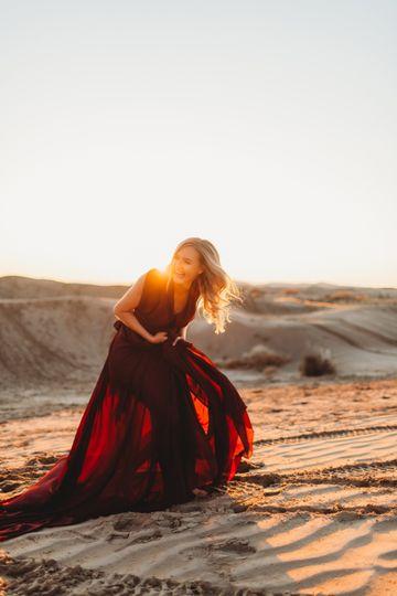 Sand Dunes Engaged 2