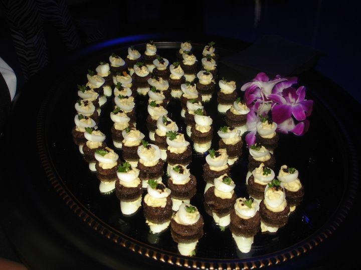 Tmx 1367509610672 Deviled Quail Egg Canapes Winter Park, FL wedding catering