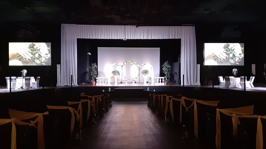 Ceremony and stage