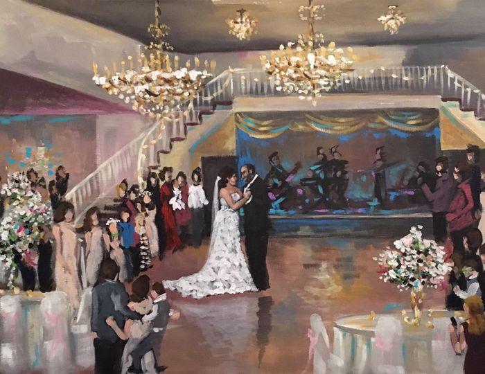 Houston Wedding Painting