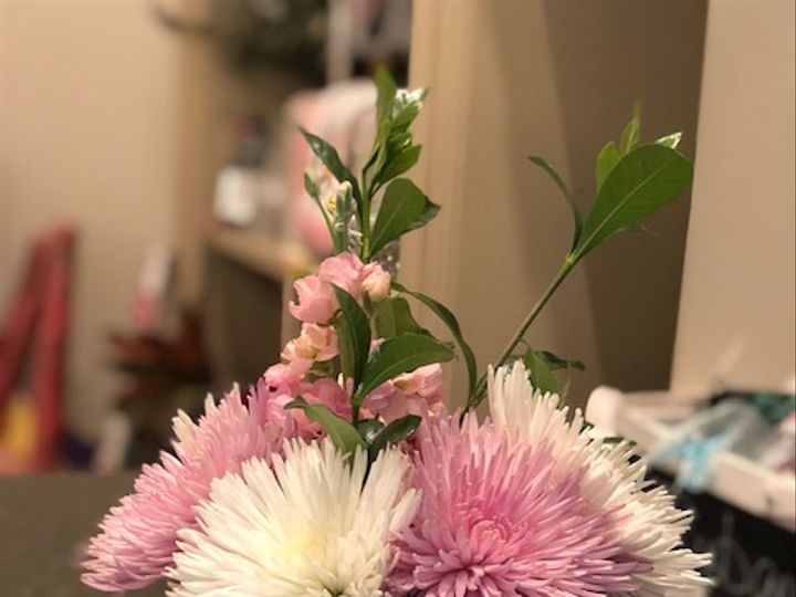 Tmx Petale Pink And White Mums 51 1010637 Raleigh, North Carolina wedding florist