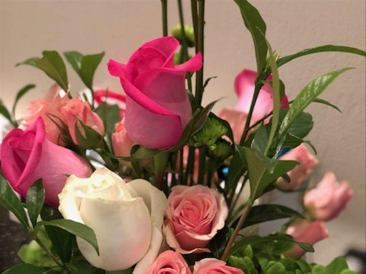 Tmx Petale Pink Arrangment 51 1010637 Raleigh, North Carolina wedding florist