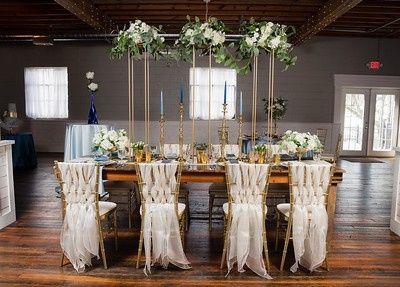 Dusty Blue Table