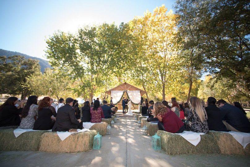 Haystack Wedding