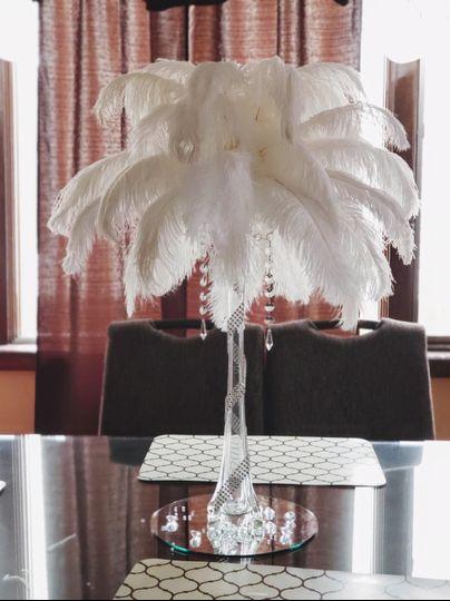 Elegant Feather Arrangement