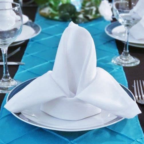 Elegant cloth napkins