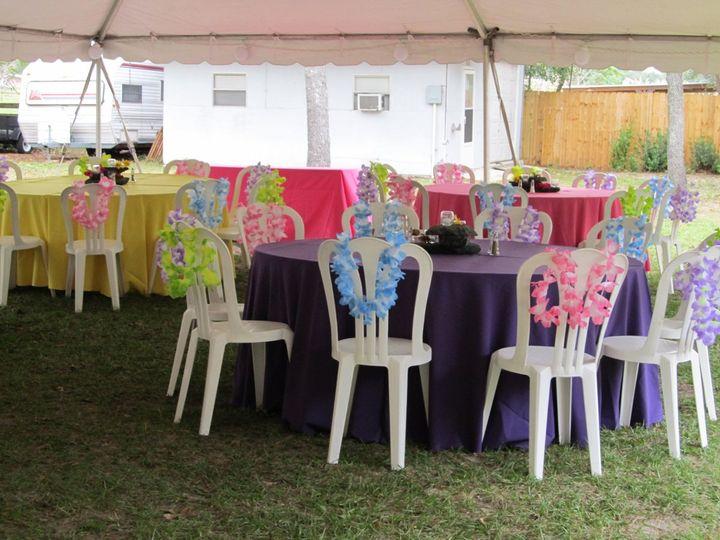 Hawaiin themed wedding