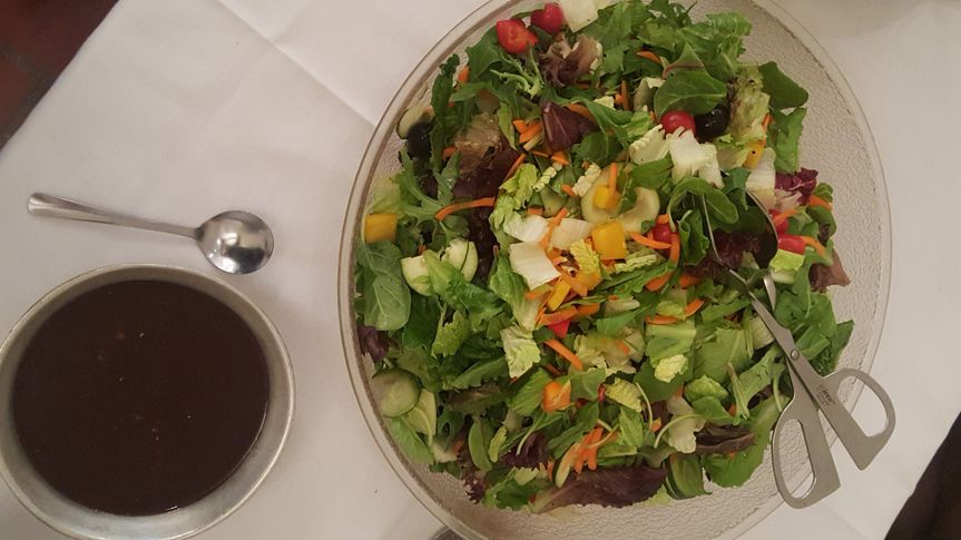 We are happy to offer salads to match a wide variety of tastes.