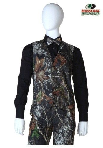 Tmx 1471616955865 Mossy Oak Tuxedo Vest Albany, New York wedding dress
