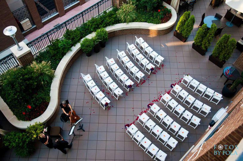 Terrace Ceremony Standard Set