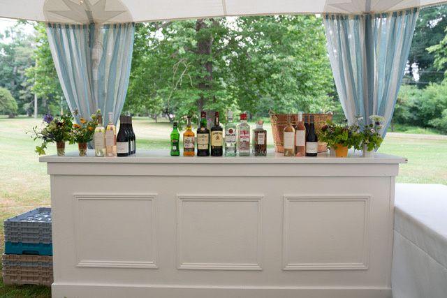 Tmx White Paneled Bar 51 1034637 Pine Plains, NY wedding rental