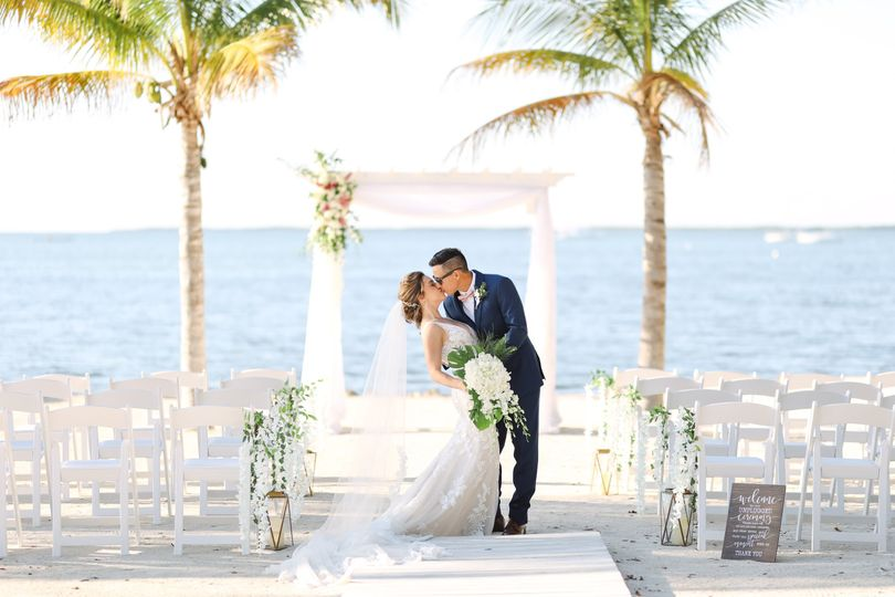 Kiss under the Palms