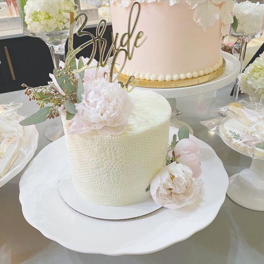 Custom Shower Cake