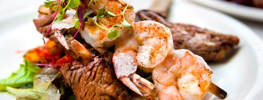c6f7c02c69ff7578 Churrasco and shrimp duo entree