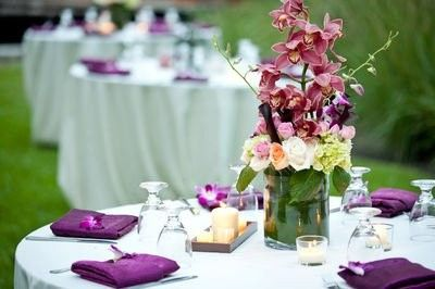 Tmx 1425916574170 Pcs Events Miami Catering Pink Cymbidium White Hyd Miami wedding catering