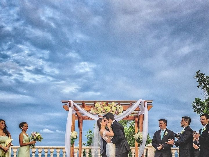 Tmx 1460129898449 Couples Kiss Thalatta Ceremony Miami wedding catering