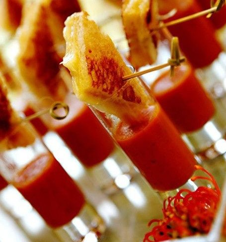 Tmx 1493333901246 Tomato Bisque Shots   Passed Apps Miami wedding catering
