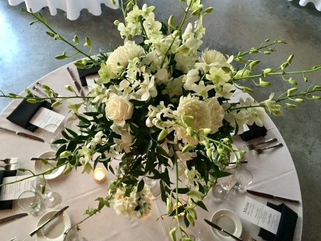 Tmx 1493333984883 Green And White Centerpiece Miami wedding catering