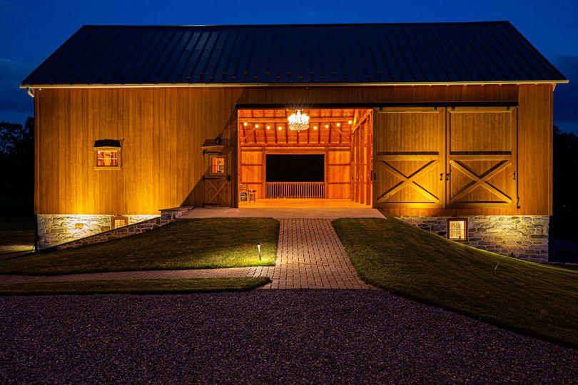 Main Entrance of Barn