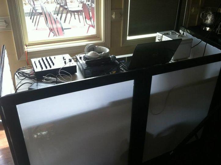 Small Audiocake DJ Setup