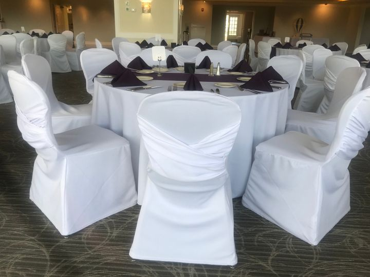 Criss cross with table runner