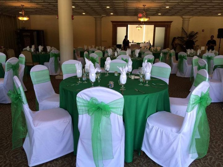 Green linens