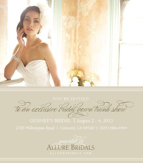 Gesinee\'s Bridal - Dress & Attire - Concord, CA - WeddingWire