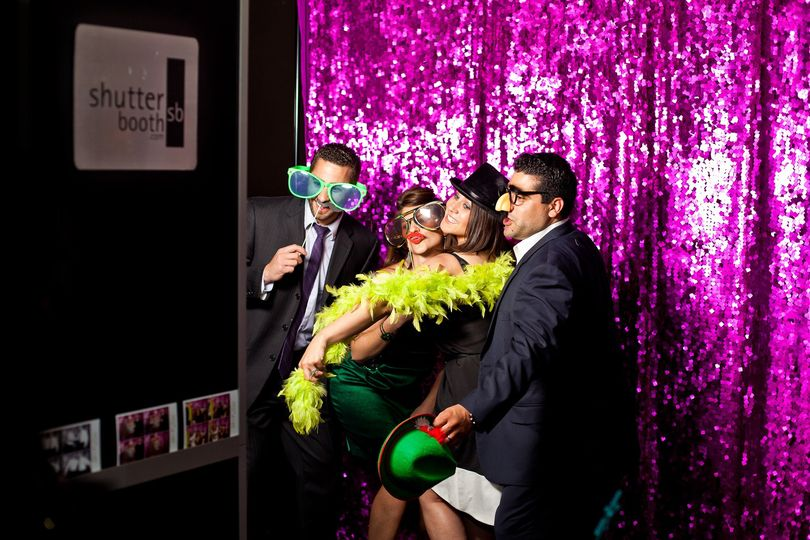 At the photobooth