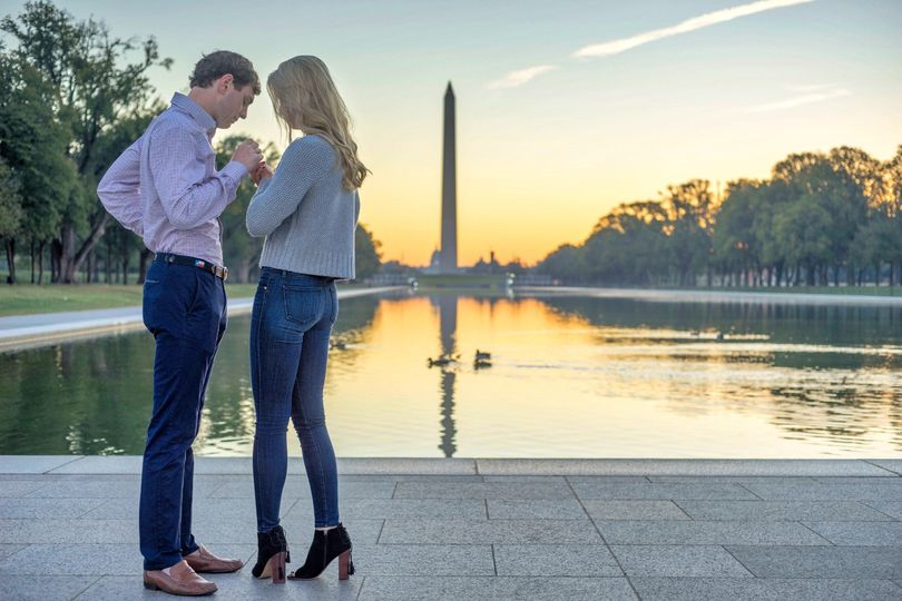 Proposal Early morning in DC