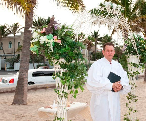 Tmx 1363899318123 MitchWeddingArch1 Deerfield Beach wedding officiant