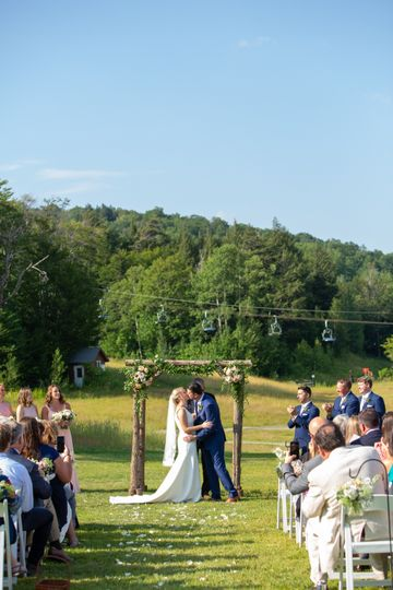Gate House Lawn Ceremony 2