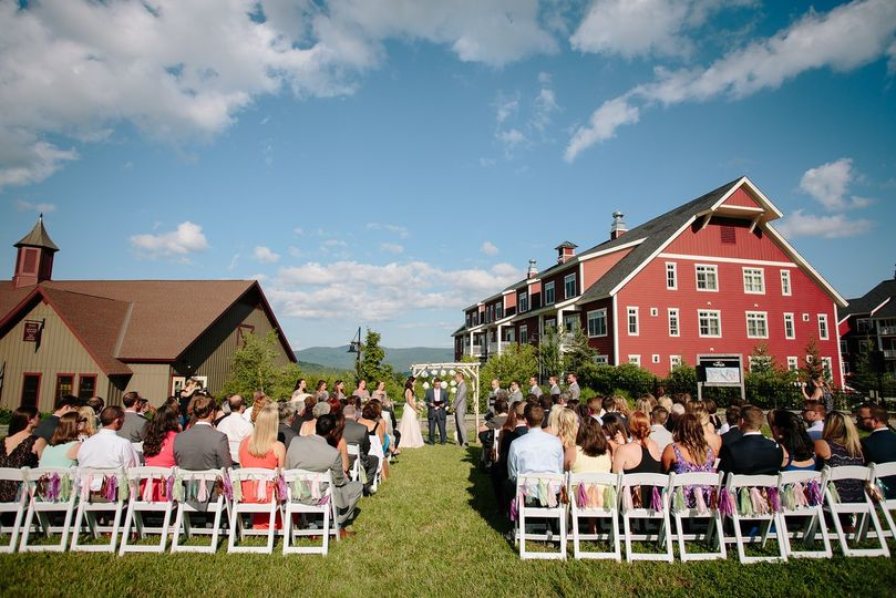 Gate House Lawn Ceremony