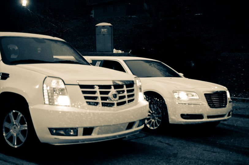 Parked limos