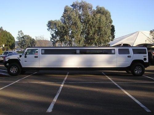 White Hummer 22 Passenger