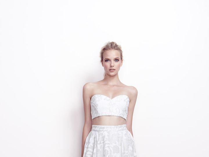 Tmx 1466714815013 140816kfspring15look220006finalsm Greenwich wedding dress